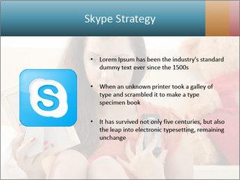 Teenage girl PowerPoint Templates - Slide 8