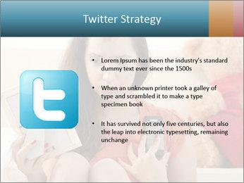 Teenage girl PowerPoint Templates - Slide 9