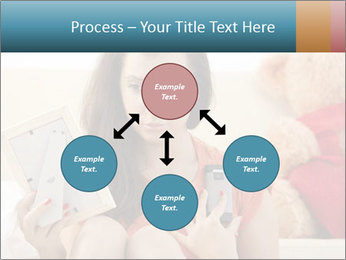Teenage girl PowerPoint Templates - Slide 91