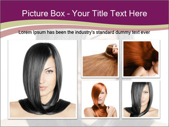 Beautiful young woman PowerPoint Templates - Slide 19