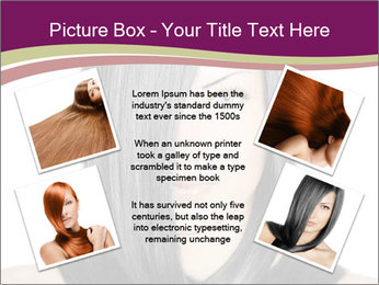 Beautiful young woman PowerPoint Templates - Slide 24
