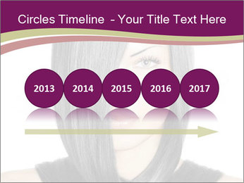 Beautiful young woman PowerPoint Templates - Slide 29