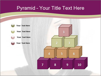 Beautiful young woman PowerPoint Templates - Slide 31