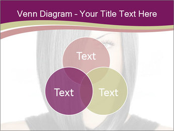 Beautiful young woman PowerPoint Templates - Slide 33