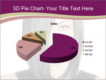 Beautiful young woman PowerPoint Templates - Slide 35