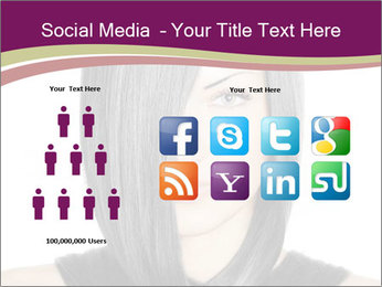 Beautiful young woman PowerPoint Templates - Slide 5