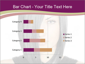 Beautiful young woman PowerPoint Templates - Slide 52