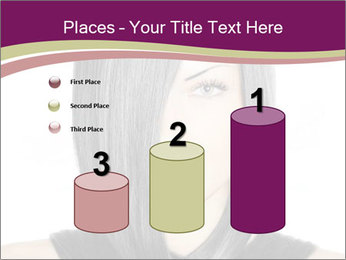 Beautiful young woman PowerPoint Templates - Slide 65