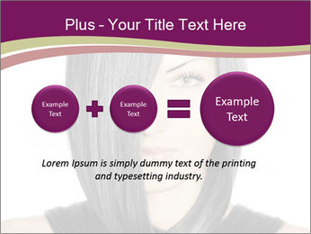 Beautiful young woman PowerPoint Templates - Slide 75