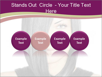 Beautiful young woman PowerPoint Templates - Slide 76