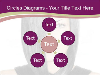 Beautiful young woman PowerPoint Templates - Slide 78