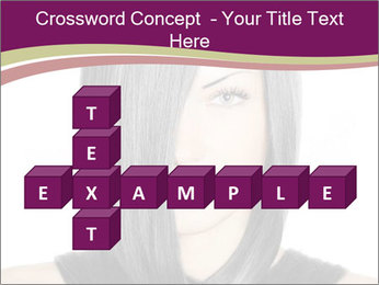 Beautiful young woman PowerPoint Templates - Slide 82