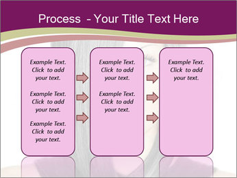 Beautiful young woman PowerPoint Templates - Slide 86
