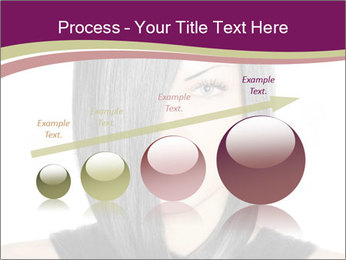 Beautiful young woman PowerPoint Templates - Slide 87