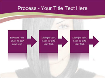 Beautiful young woman PowerPoint Templates - Slide 88