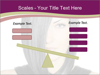 Beautiful young woman PowerPoint Templates - Slide 89