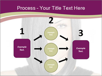 Beautiful young woman PowerPoint Templates - Slide 92