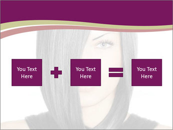Beautiful young woman PowerPoint Templates - Slide 95