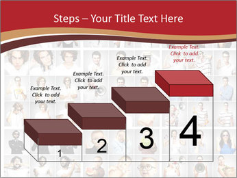 Composition of young people PowerPoint Templates - Slide 64
