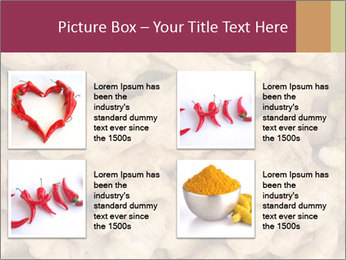 Heap of ginger root PowerPoint Template - Slide 14