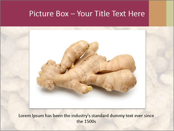 Heap of ginger root PowerPoint Templates - Slide 15