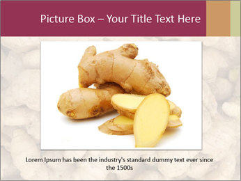Heap of ginger root PowerPoint Template - Slide 16