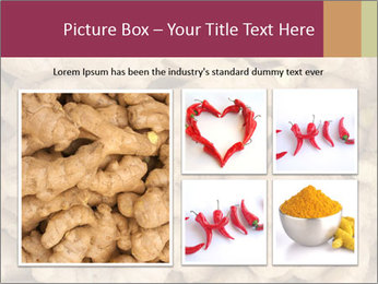 Heap of ginger root PowerPoint Template - Slide 19