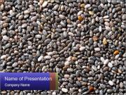 Chia seeds PowerPoint Templates