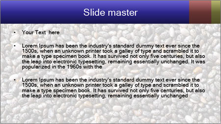 Chia seeds PowerPoint Template - Slide 2
