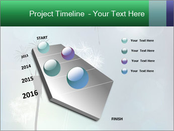 Abstract faded PowerPoint Templates - Slide 26