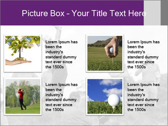 Golf Open in Sydney PowerPoint Template - Slide 14