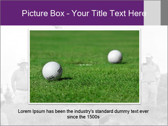 Golf Open in Sydney PowerPoint Template - Slide 16