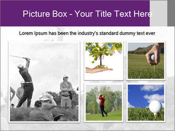 Golf Open in Sydney PowerPoint Template - Slide 19