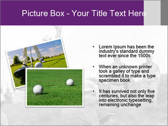 Golf Open in Sydney PowerPoint Template - Slide 20