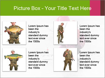 Little child fishing PowerPoint Template - Slide 14