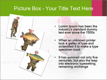 Little child fishing PowerPoint Template - Slide 17