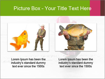Little child fishing PowerPoint Template - Slide 18