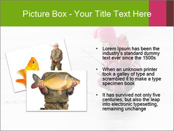 Little child fishing PowerPoint Template - Slide 20