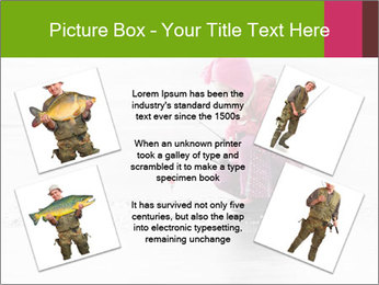 Little child fishing PowerPoint Template - Slide 24