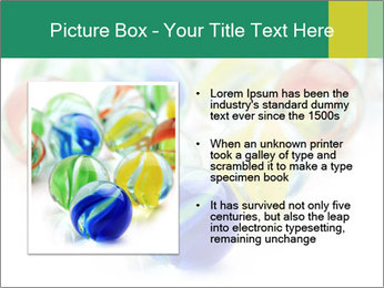 Colourful toy PowerPoint Template - Slide 13