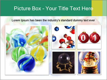 Colourful toy PowerPoint Template - Slide 19