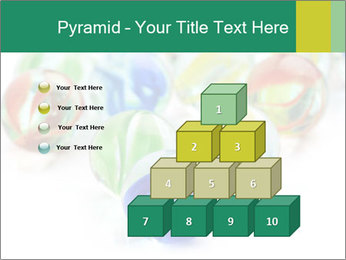 Colourful toy PowerPoint Template - Slide 31