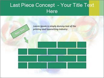 Colourful toy PowerPoint Template - Slide 46