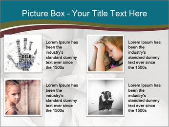 Woman  a severe depression PowerPoint Template - Slide 14