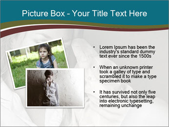 Woman  a severe depression PowerPoint Template - Slide 20