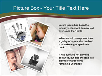 Woman  a severe depression PowerPoint Template - Slide 23