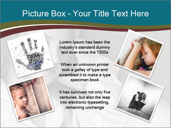 Woman  a severe depression PowerPoint Template - Slide 24
