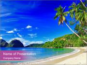 Beautiful tropical PowerPoint Templates