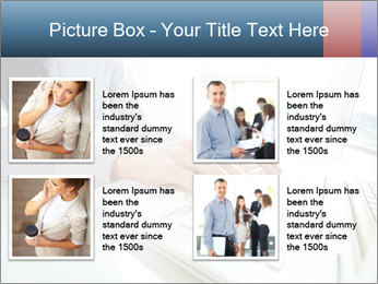Business lady typing on laptop at office PowerPoint Template - Slide 14