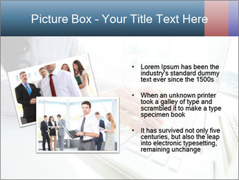 Business lady typing on laptop at office PowerPoint Template - Slide 20